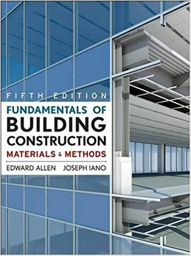 Fundamentals of Building Construction: Materials and Methods, 5th Edition