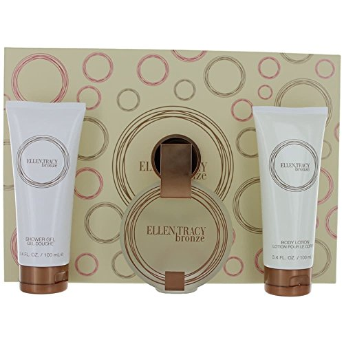 Ellen Tracy 3 Piece Gift Set, Bronze