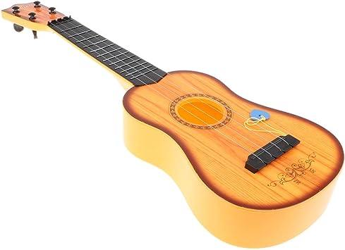 B Blesiya Juguete de Instrumentos Musicales Guitarra Acústica de 4 ...