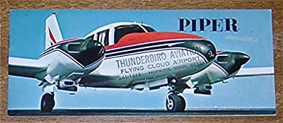 Piper Aircraft - Vintage 1965 Sales Brochure
