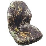 Bucket Seat Vinyl Camouflage John Deere 315 2520 4710 3120 240 250 320 70 4700 4320 270 4400 4720 4520 325 260 Case 90XT 1840 420 410 430 60XT 85XT 1845C 440 450 1845 Gehl Case IH Caterpillar Montana