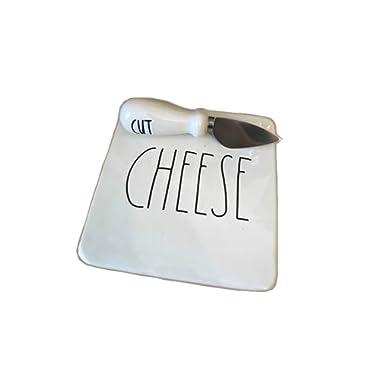 Rae Dunn CHEESE/CUT LL Boxed Cheese Board With Knife
