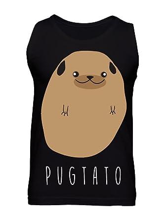 graphke Pugtato - Half Pug, Half Potato Men's Tank Top Small