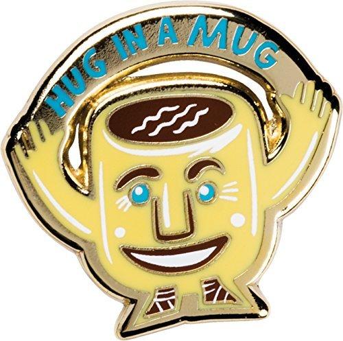 LOL Enamel Pin - Coffee Is Like A Hug in a Mug