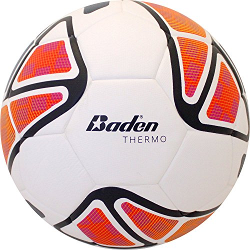 Baden Thermo Soccer Ball, Multicolor, Size 5 High Five Soccer