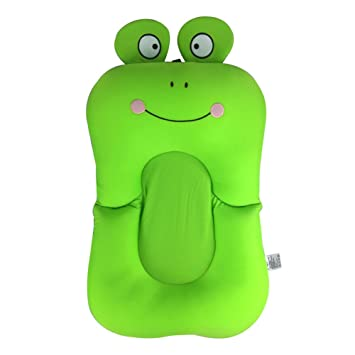 Baby Badewanne Neugeborenen Faltbare Pad Stuhl Badewanne Sitz Cartoon Frosch
