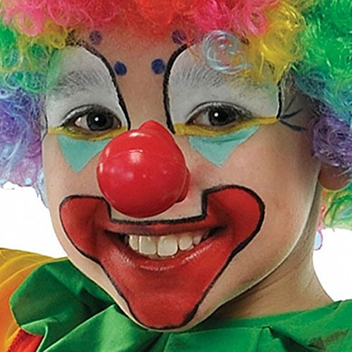 (Amscan, Squeaky Clown Nose Costume Accessory, As Shown, Medium)