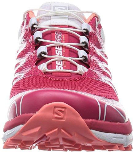 Salomon - Zapatillas de running para hombre Rojo