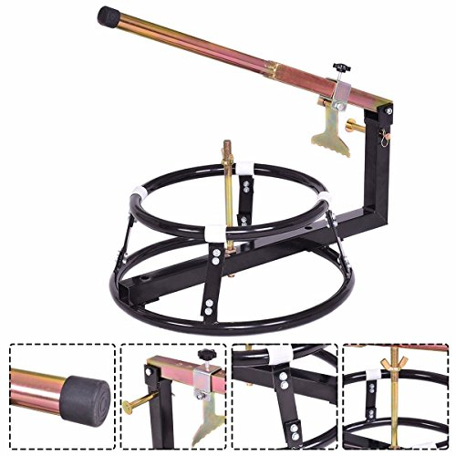 Goplus Bike Tire Changer Change Tyre Wheel for 16'' Rims or Larger Bicycle Motorcycle Portable Bead Breaker by Goplus (Image #1)