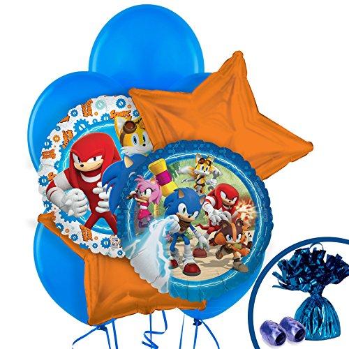 BirthdayExpress Sonic Boom Party Supplies - Balloon Bouquet