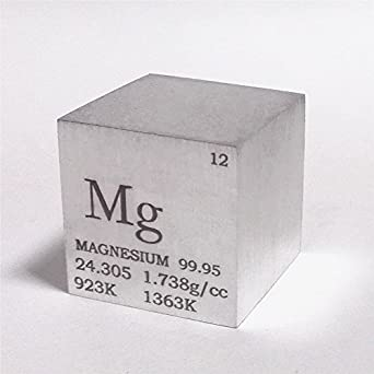 1 inch 254mm magnesium metal cube 28g 9995 engraved periodic 1 inch 254mm magnesium metal cube 28g 9995 engraved periodic table urtaz Images