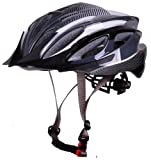 CoolChange EPS Black Integrally-molded Cycling Helmet