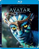 Avatar (Limited 3D Edition) [Blu-ray 3D + Blu-ray + DVD] (Bilingual)