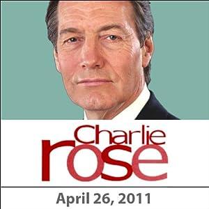 Charlie Rose: Robert De Niro, Jane Rosenthal, Robert Malley, and Karl Gerth, April 26, 2011 Radio/TV Program