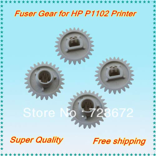 Yoton 20 X Lower Pressure Roller Gear RU7-0100-000 Fuser Gear RU7-0100 26T for HP P1102 1102 Printer Spare Parts