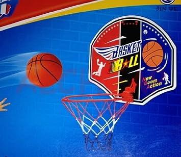 Basketballkorb, für Kinderzimmer 22 cm + Ball + Pumpe: Amazon.de ...