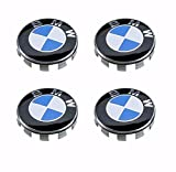 #9: AML 4 BMW Wheel Center Hub caps for 3 5 6 7 series X6 X 5 X3 Z3 Z4 68mm 2.68 inches 4pcs