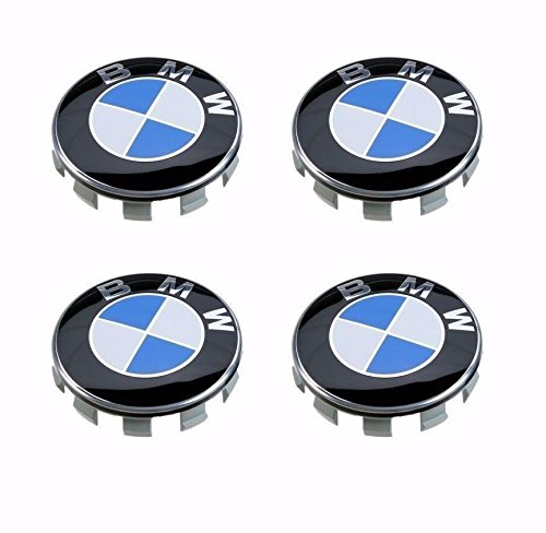 AML 4 BMW Wheel Center Hub caps for 3 5 6 7 series X6 X 5 X3 Z3 Z4 68mm 2.68 inches 4pcs Series Wheel Center Cap