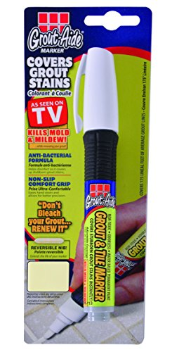 Grout-Aide 05061 Marker, 9.8ml, Almond (Paint Pen For Grout)