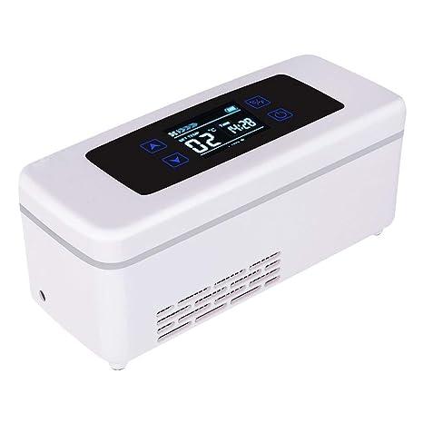 Mini portátil de insulina Caja refrigerada Medicina del hogar ...