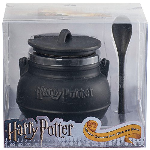 Harry Potter Cauldron with Lid /& Spoon Soup Mug