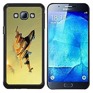 """For Samsung Galaxy A8 ( A8000 ) , S-type Naturaleza Hermosa Forrest Verde 139"""" - Arte & diseño plástico duro Fundas Cover Cubre Hard Case Cover"""