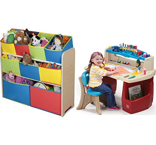 Combo of Cute Fun and Exciting Multi-color Deluxe Storage