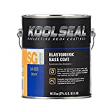 KST KS0034600-16 Kool Seal Elastomeric Base Coat, Gray, 1 Gallon