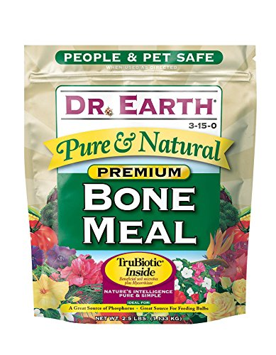 Dr. Earth Pure & Natural Bone Meal 2.5 lb