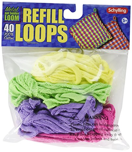 Loop Refills for Metal Potholder Loom ()