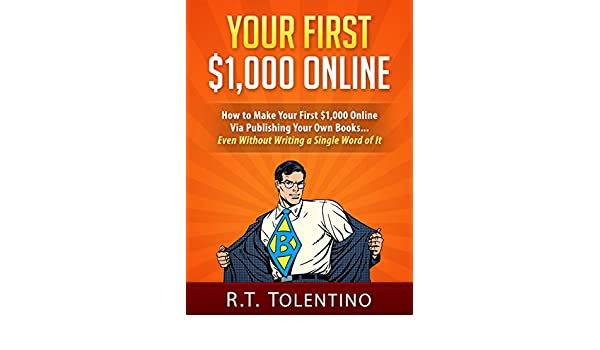 amazon com your first 1 000 online how to make your first 1 000