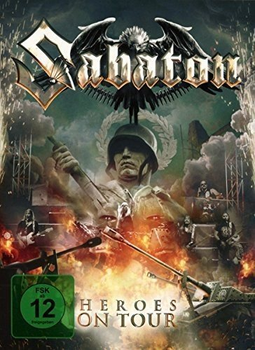 CD : Sabaton - Heroes On Tour (with Bonus Dvd) (Holland - Import)