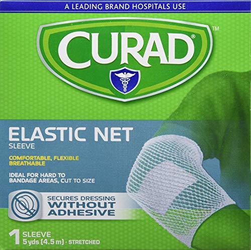 (Curad Hold Tite Tubular Stretch Bandage Large Dressing (5 Yards) - Pack of 4)