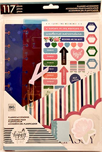 Me & My Big Ideas PSAP-10 The Happy Planner Girl - Classic Accessory Pack - Socialite, Multicolor