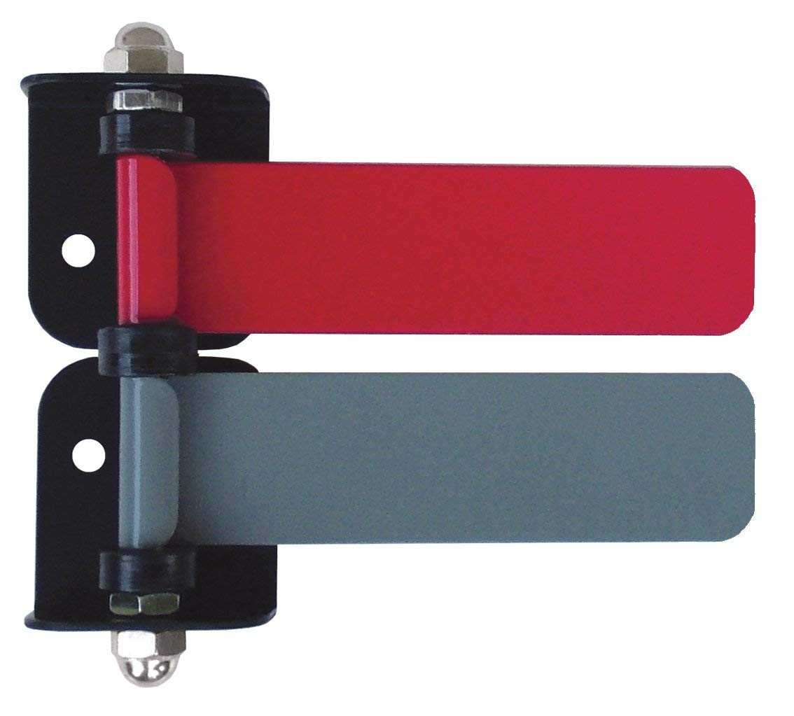 "Omnimed 291832_2020 Room ID Flag System, Standard 4"" 2 Color Set (Quickly & Clearly Alert Staff to Room Availability)"