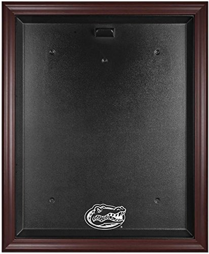 Florida Gators Mahogany Framed Logo Jersey Display Case by Sports Memorabilia