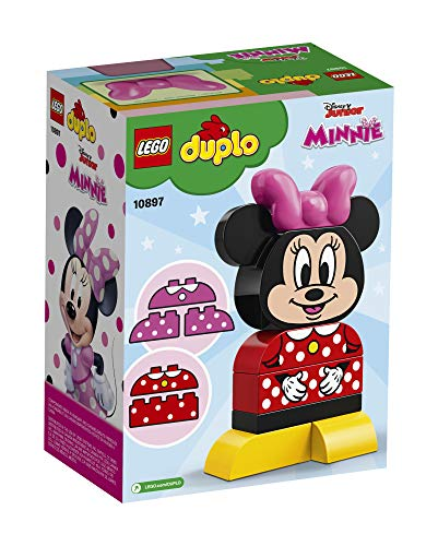 LEGO DUPLO Disney Juniors My First Minnie Build 10897 Building Bricks (10 Pieces)