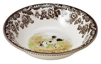 Spode Woodland American Wildlife Black Bear Cereal Bowl Portmeirion USA 1884979
