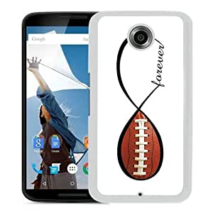Google Nexus 6 American Football Forever Infinity Forever Screen Phone Case Elegant
