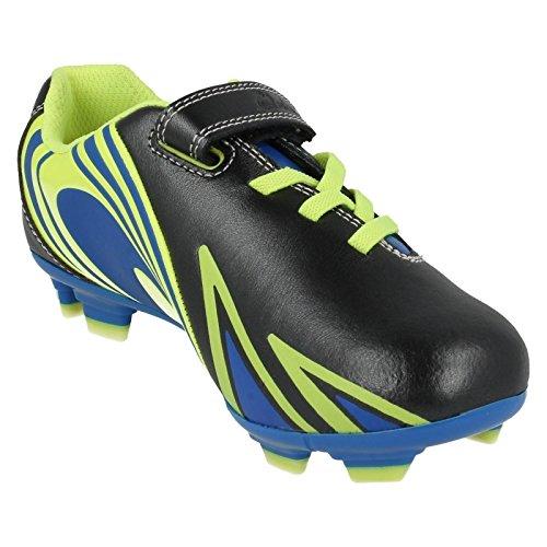 Combi Chaussures Inf En Strike Ace Boys Clarks Cuir Noir 4wIYFq