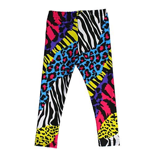 Baby Rocker Costume (Largemouth Baby's 80's Neon Multicolor Costume Pants)