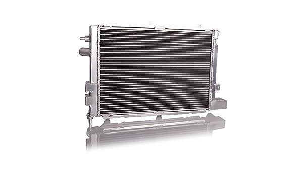 Aluminio Carreras Agua enfriador Opel Calibra Turbo + 2 Ventilador: Amazon.es: Coche y moto