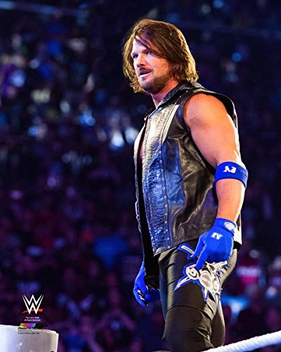 """A.J. Styles WWE 2016 Action Photo (Size: 8"""" x 10"""")"""
