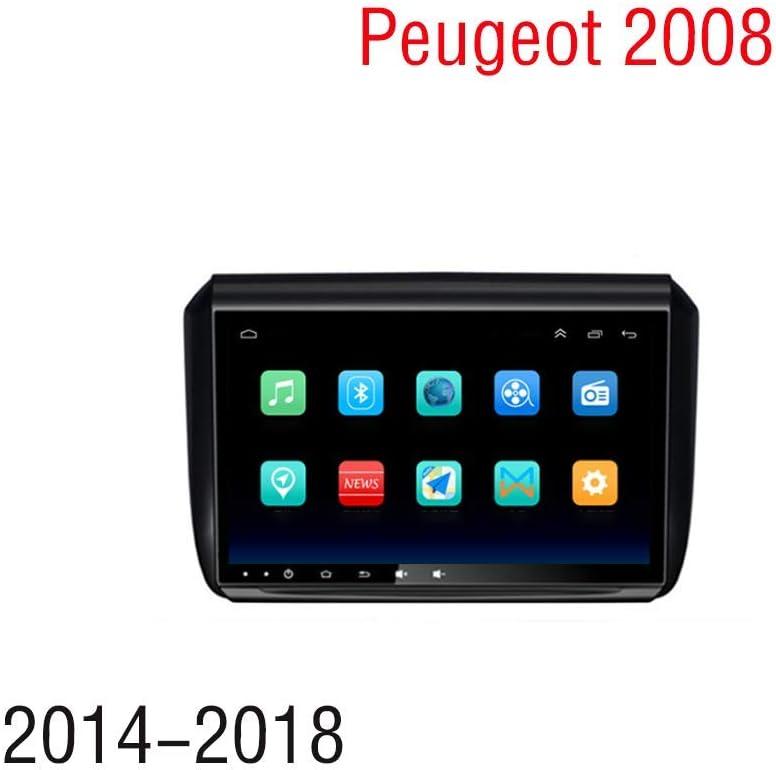 Hahaiyu Estéreo 9 Pulgadas de Coches Android 8.1 Radio Navegador GPS para Peugeot 2008 (2014-2018) con CANBUS WiFi, BT, SWC, Espejo Enlace, multifunción (1G + 16G): Amazon.es: Electrónica