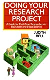 Doing Your Research Project, Judith Bell, 0335159877