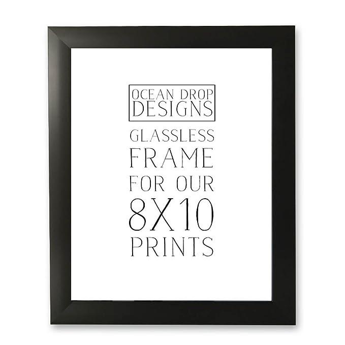 Amazon.com - Ocean Drop Designs Frame for 8x10 Prints (White) -
