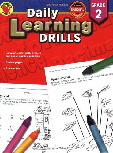 Daily Learning Drills Grade 2: Vincent Douglas, Brighter Child ...