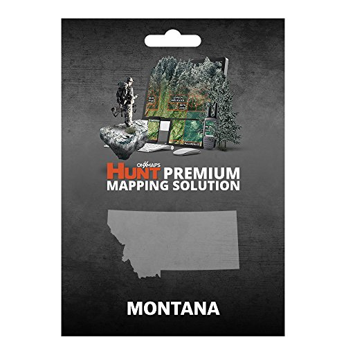 onXmaps HUNT Montana: Digital Hunting Map For Garmin GPS + Premium Membership For Smartphone and Computer Color Coded Land Ownership 24k Topo Hunting Specific Data