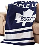 NHL by Sunbeam Fleece Heated Throw, Toronto Maple Leafs