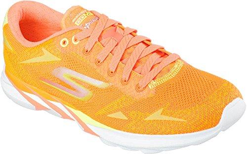 Skechers  Go Meb Speed 32016, Chaussures de running homme - Orange - orange, 10.5 D(M) US EU